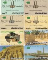 LOTTO 8 SCHEDE TELEFONICHE EGITTO  (CE0322 - Egitto