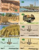 LOTTO 8 SCHEDE TELEFONICHE EGITTO  (CE0323 - Egitto