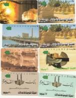 LOTTO 8 SCHEDE TELEFONICHE EGITTO  (CE0325 - Egitto