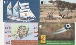 LOTTO 4 SCHEDE TELEFONICHE OMAN  (CE0328 - Oman