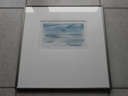 """Aquarell Schweiz """"Morgennebel"""" GR - 400,00 € (BAR/100% WIR) - Watercolours"""