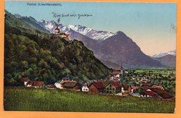 Vaduz Liechtenstein 1910 Postcard Mailed - Liechtenstein