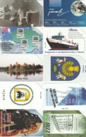 LOTTO 10 SCHEDE TELEFONICHE LITUANIA  (CE0497 - Lithuania