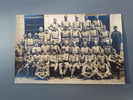 Cpa  Groupe De Soldats Du 124° 2° Cie. 1922 - Régiments