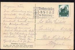 DR DEUTSCHES REICH NÜRNBERG N.S.D.A.P. 1934. EXCELLENT POSTKARTE 1€ - Germany