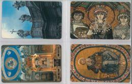 LOTTO 4 PREPAID PHONE CARD ATW AEREI (DX16.1 - Italy