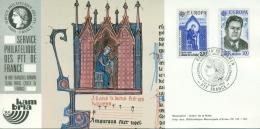 CM-CP016-Carte Expo-Exhibition Card-Messe Karte #France-1985 # KAMBRIA -Kambria (Germany) # Europa-Cept,Musique,Music - Maximumkaarten
