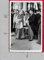 CARTOLINA VG POLONIA - Foto AUTENTICA Con Vescovo E Personalità Politiche Dell'epoca - 9 X 14 - ANN. 1936 - Polonia