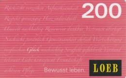 GIFT CARD - CARTA REGALO (GC269 - Gift Cards