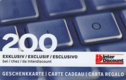 GIFT CARD - CARTA REGALO (GC292 - Gift Cards