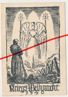 Postkarte Kriegsweihnacht 1940 - Kriegs-Weihnacht Weihnachten - Feldpost Christmas - Wehrmacht - Guerra 1939-45