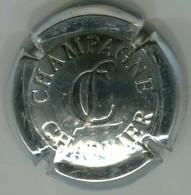 CAPSULE-CHAMPAGNE CHARLIER N°13 Estampée Métal - Charlier