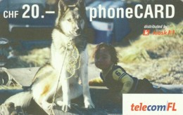 SCHEDA TELEFONICA PREPAGATA SVIZZERA (CC39 - Suisse