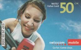 SCHEDA TELEFONICA PREPAGATA SVIZZERA (CC41 - Svizzera