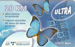 SCHEDA TELEFONICA PREPAGATA BOSNIA ERZEGOVINA (CC77 - Bosnia