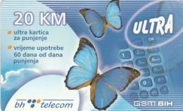SCHEDA TELEFONICA PREPAGATA BOSNIA ERZEGOVINA (CC80 - Bosnia
