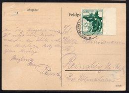 DR DEUTSCHES REICH SCHWÄBISCH HALL 1944. NICE FELDPOSTKARTE 1€ - Germany