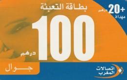 SCHEDA TELEFONICA PREPAGATA MAROCCO (CC183 - Morocco