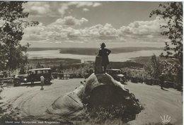 Utsikt Over Oslofjorden Med Kragstøtten. Norway -Sent To Denmark 1939    # 05923 - Norway