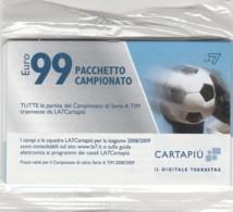 CARTA ACCESSO TV NUOVA NON ATTIVA (CC556 - Altre Collezioni