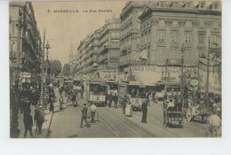 MARSEILLE - La Rue Nouilles (tramways ) - Canebière, Centre Ville