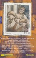 TESSERA FILATELICA  FILIPPO LIPPI VALORE 1,5 ANNO 2005  (TF393 - 1946-.. République