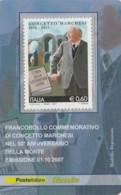 TESSERA FILATELICA  CONCETTO MARCHESI VALORE 0,6 ANNO 2007  (TF398 - 1946-.. République