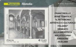 TESSERA FILATELICA  CESENA VALORE 0,6 ANNO 2008  (TF406 - 1946-.. République