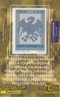 TESSERA FILATELICA  CONFOCOMMERCIO VALORE 0,6 ANNO 2005  (TF420 - 1946-.. République