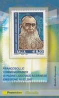 TESSERA FILATELICA  PADRE LODOVICO ACERNESE VALORE 0,23 ANNO 2007  (TF449 - 1946-.. République
