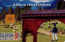 TARJETA TELEFONICA DE HUNGRIA. ÁBEL A RENGETEGBEN, HU-P-1995-19A. (159) - Hungría