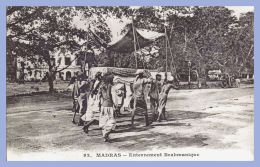 CPA - Madras (Indes) - 92. Enterrement Brahmanique   // Messageries Maritimes - India