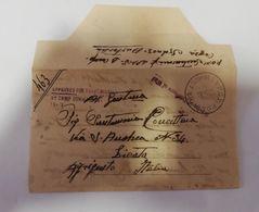2480) POW PRIGIONIERI GUERRA 2WW CA. P COVRA AUSTRALIA 1946 28 GIUGNO - Storia Postale