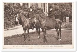 H.M. De Koningin En Z.K.H. De Prins Der Nederlanden 1915 - Koninklijke Families