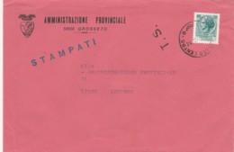 LETTERA CIRCA 1980 L.70 TIMBRO T.S. (LN206 - 6. 1946-.. Repubblica