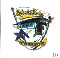 "Pin's Base Ball / Equipe Des ""Marlins"" De Miami (Floride-USA) - World Series Champions 1997. Zamac Fin. T622-10 - Baseball"