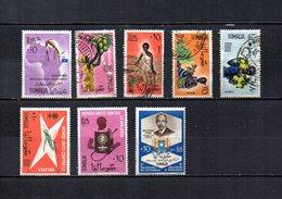 Somalia,  Rep.   1960-63  .   Y&T  Nº    2-9/10-15/16-22/23-29 - Somalia (1960-...)