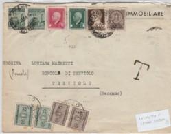 LETTERA RSI 1944 AFFRANCATURA DI TUTTO (LN411 - 4. 1944-45 Repubblica Sociale