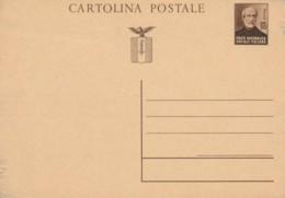 INTERO POSTALE NUOVO RSI CENT.30 (LN451 - 4. 1944-45 Repubblica Sociale