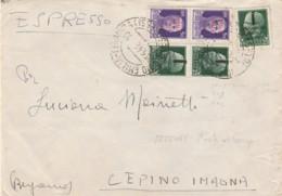 ESPRESO RSI 1944 CON 3X25+2X50 SS (LN484 - 4. 1944-45 Repubblica Sociale