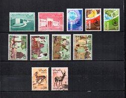 Somalia,  Rep.   1963-67  .   Y&T  Nº    30/31-52/54-55/58-64/65 - Somalia (1960-...)