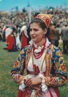 CARTOLINA VIAGGIATA COSTUMI SARDI (LN535 - Kostums