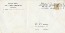 LETTERA 1973 TIMBRO AEREONAUTICA MIITARE DA 50 ANNI  (LN659 - 6. 1946-.. Repubblica