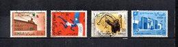 Somalia,  Rep.   1960-63  .   Y&T  Nº    3-6-16-25     Aéreos - Somalia (1960-...)