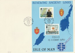 FDC 1980 ISLE OF MAN (LN675 - Isola Di Man