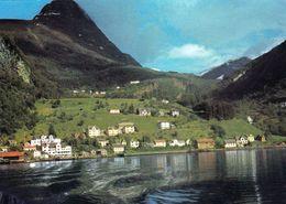 1 AK Norwegen * Geiranger Am Geirangerfjord - ältere Ansicht * - Norvège