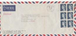 LETTERA 1969 AUSTRALIA DIRETTA ROMA TIMBRO SIDNEY (LN694 - 1966-79 Elizabeth II