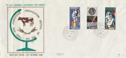 FDC 1968 MALTA (LN697 - Malte (Ordre De)