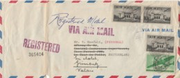 LETTERA USA REGISTRED AIR MAIL (LN699 - Covers & Documents
