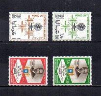 Somalia,  Rep.   1962-63  .   Y&T  Nº    18/19-23/24     Aéreos - Somalia (1960-...)